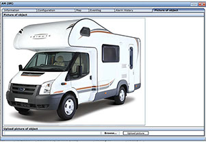 Automatrics MTrack Internet Login Motorhome Security Images