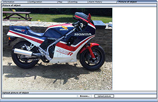 Automatrics MTrack Internet Login Motorcycle Security Images